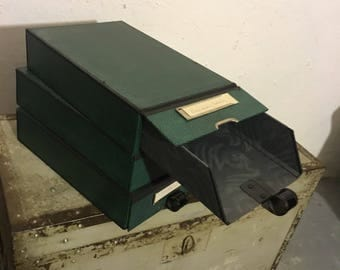 Filing boxes 60 he years cardfile system
