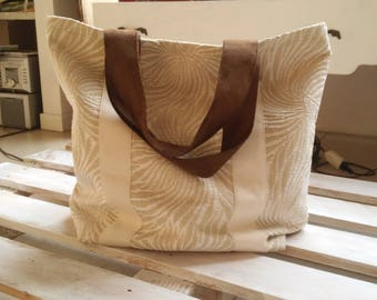 beach bag beige