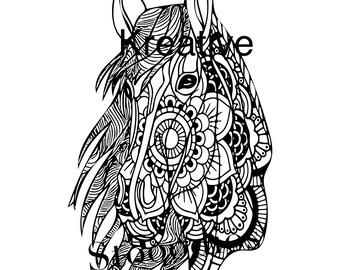Horsehead mandala