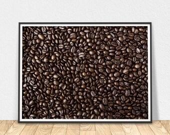 Coffee Print - Printable Art, Wall Art, Digital Print, Coffee Decor, Coffee Photo Print, Coffee Art Print, Digital Poster, Digital Art Print