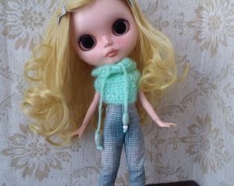 "Blythe doll outfit ""GreenWater"""