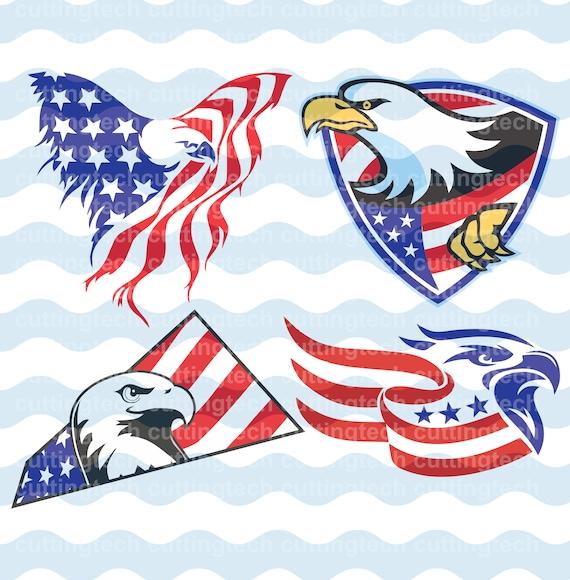 American Eagle Eagles National Symbol Flag Dxf Eps Png Files