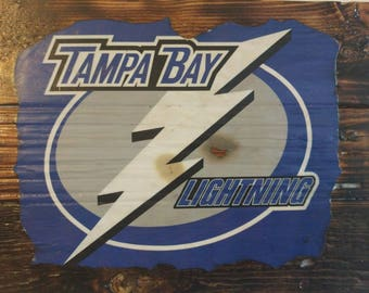 Custom NHL sign art for your Man Cave!- Red Wings, Panthers, Canadians, Senators, Lightning, Maple Leafs, Blackhawks, Avalanche, Stars, Wild