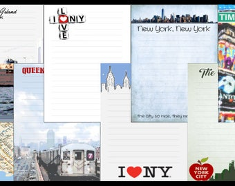 New York, NY Printable Journal Pages