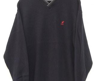 Vintage Kangol England Navy Blue Sweatshirt / Kangol Sweater / Sportwear