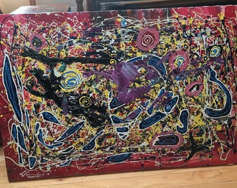 Large Splatter Paint