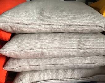 Cornhole bags set of 4- gray