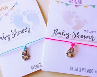 Baby Shower Party Favors • Baby Shower • Baby shower bracelets • Angel Bracelet • Angel Baby Shower