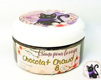 Moisturizing lotion hot chocolate