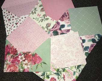 Botanical garden envelopes