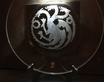 Game Of Thrones  Sigil Dinner Plates (Set of Four)