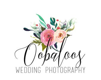 Logo Design // Custom Logo for Photography and Small Businesses // Hand Drawn