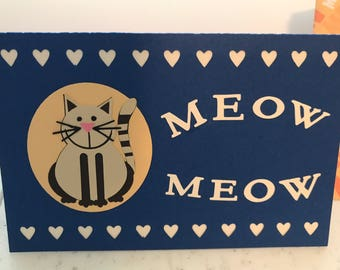 Custom Birthday/Ocassion Card from Cat(s)
