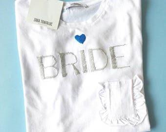 Bride T-shirt #brideshirt #evjf
