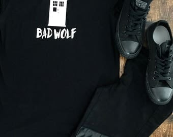 Dr who bad wolf t shirt