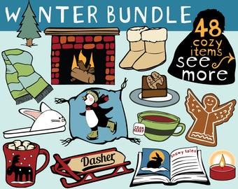 Snowglobe clipart etsy winter clipart winter scrapbook holiday clipart winter sticker clipart winter clip art voltagebd Choice Image
