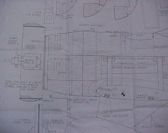 Gee Bee Model Y Model Airplane Plan 90 Inch Wing Span