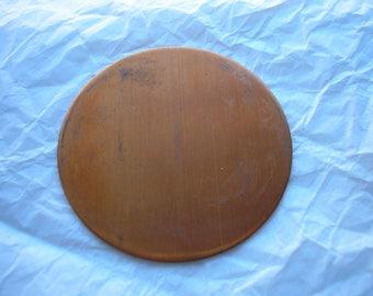 """Copper Blank, Large Circle, 2"""", Diameter, Metal Blank for Enameling, Copper Shapes, Copper Enameling Supply, Metal Stamping, Jewelry Making"""