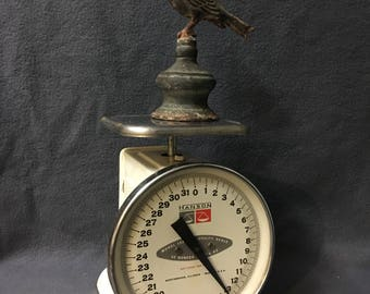 Vintage Hanson Model 1522 Kitchen Scale Rustic Farmhouse Decor Scale