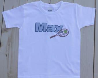Tennis Shirt, Tennis Kids Shirt, Sports Shirts, Kids Shirts, Boys Shirt, Girls Shirt, Boys Tennis Shirt, Girls Tennis Shirt