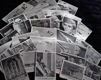 Part Set Of 37 Out Of 72 A.P Films Ltd Thunderbirds Collectors Cards
