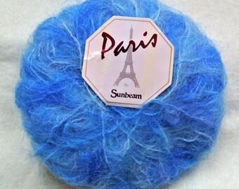Vintage Paris Sunbeam Blue Mohair Wool (3 x 25g)