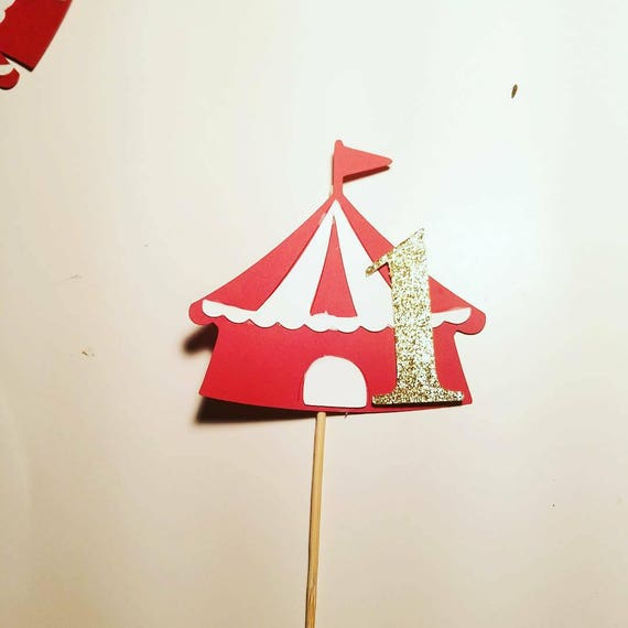Il_570xn & Circus tent cake topper carnival tent cake topper dumbo cake ...