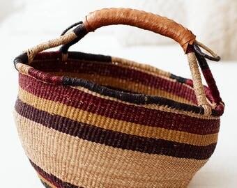 Vintage Large Market Basket