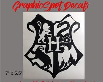 Hogwarts Badge | Vinyl Decal |