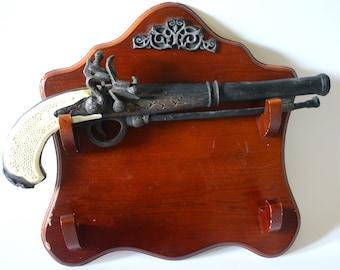 Replica Revolver Keepsake Cremation Urn w/Mounting Plaque