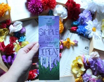 Disney Sleeping Beauty, Maleficent bookmark