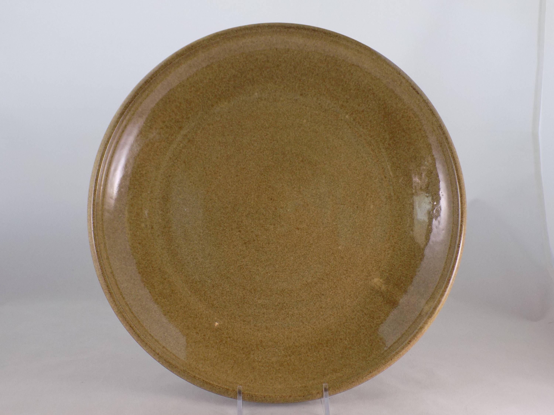 reduced serving platter handmade platter pottery plate serving