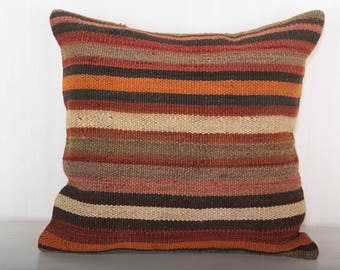 striped pillow, modern designer pillows, throw pillows, 18x18 pillow covers, beach house decor, home decor beach, bedroom decoration KP10081