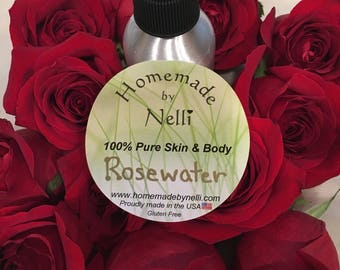 Best All Natural Rosewater Spray