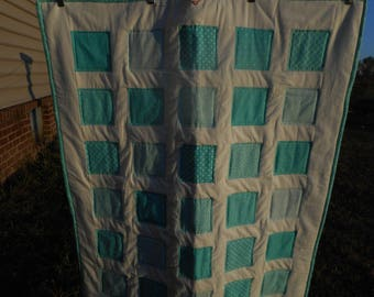 Crib quilt or lap quilt