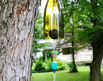 Wine Bottle Wind Chime