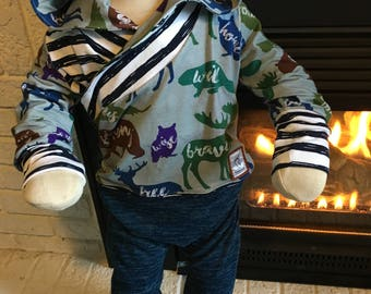 12m-3t grow with me romper