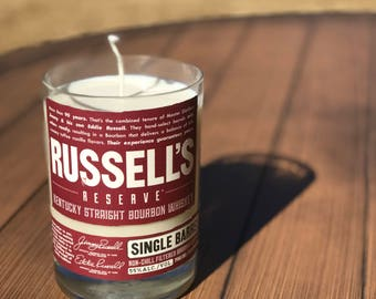 Russell's Reserve Single Barrel Bourbon Candle
