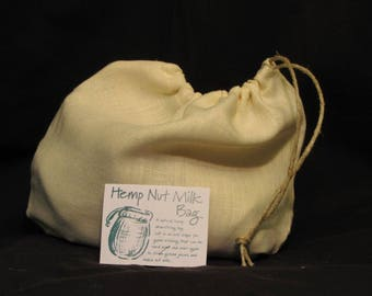 Hemp Nut Milk Bags