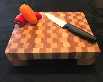 Mini End Grain Cutting Board / Chopping Block