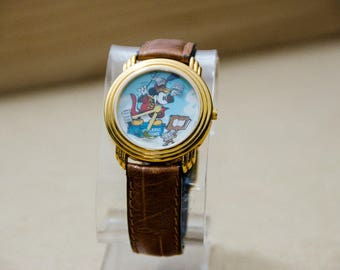 Super Rare Vintage Disney Mickey Mouse Magic Music Days Watch