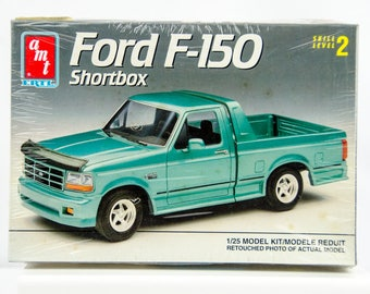 Sealed Rare Vintage AMT Ford F-150 Shortbox Pickup Truck 1/25 Scale Model