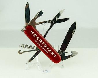 Victorinox Swiss Army Climber Heartstart LOGO Pocket Knife