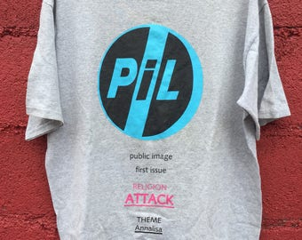 Johnny Rotten Public Image Limited PIL SHIRT First Issue Religion Attack Theme Annalisa