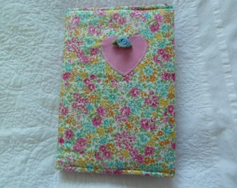 Fabric book cover