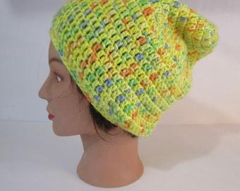 Dread Hat, Dread Tam, Rasta Hat, Slouchy Beanie, Dread Beanie, Hippie Hat, Festival Hat, Vegan Beanie, Hippie Beanie, Reggae Hat