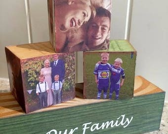 Our Family Forever Block Set