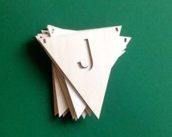 Flag Line Wood-J