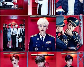 BTS Dope Photocards