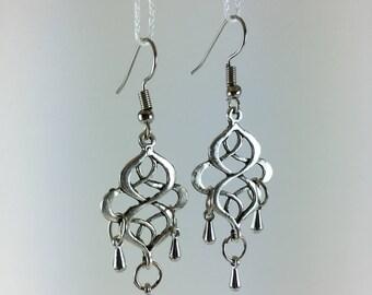 Earrings print & drops